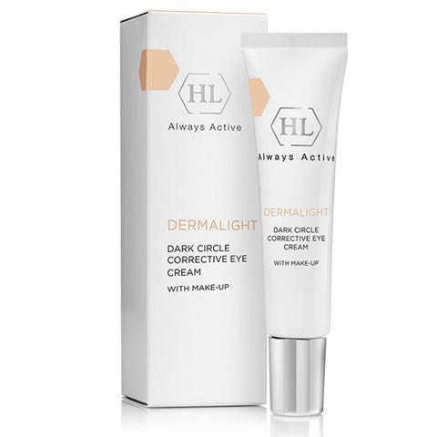 Holy Land Dermalight: Корректирующий крем с тоном для кожи вокруг глаз (Dark Circle Corrective Eye Cream Make-Up)