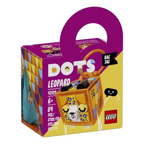 LEGO Dots: Брелок Леопард 41929 — Bag Tag Leopard — Лего Дотс Точки