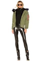 Куртка Alpha Industries N-2B Impact Parka W