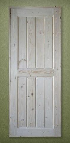 Дверь филенчатая 2,0х0,8 м с коробкой 100 мм