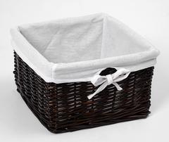 Плетеная корзина для ванной комнаты WasserKRAFT Alme WB-150-S
