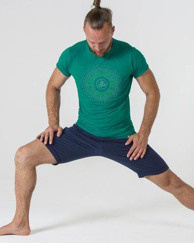 Футболка мужская Cosmos Green YogaDress