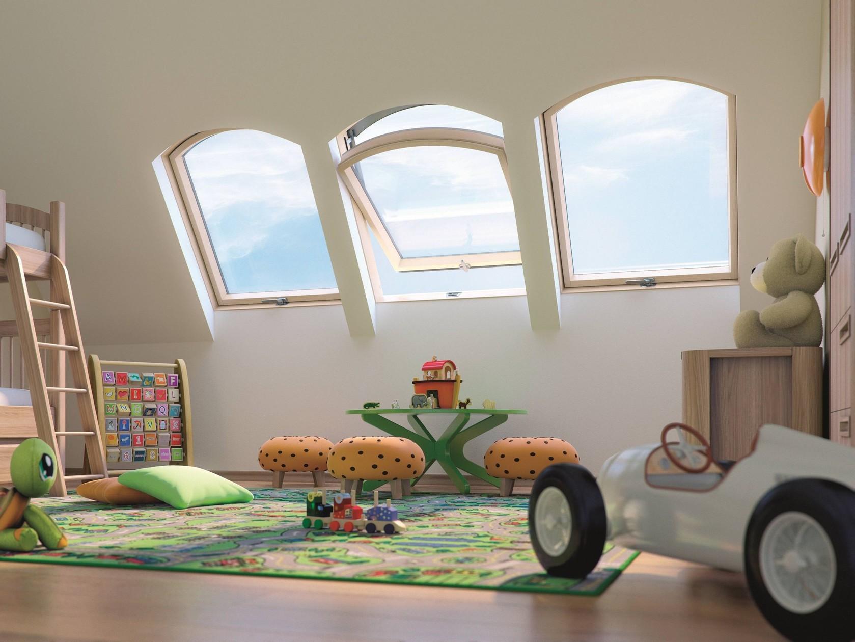 Арочное окно FTP/B Z6  FAKRO