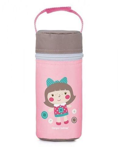 Canpol babies. Термосумка для детских бутылочек Toys, розовая