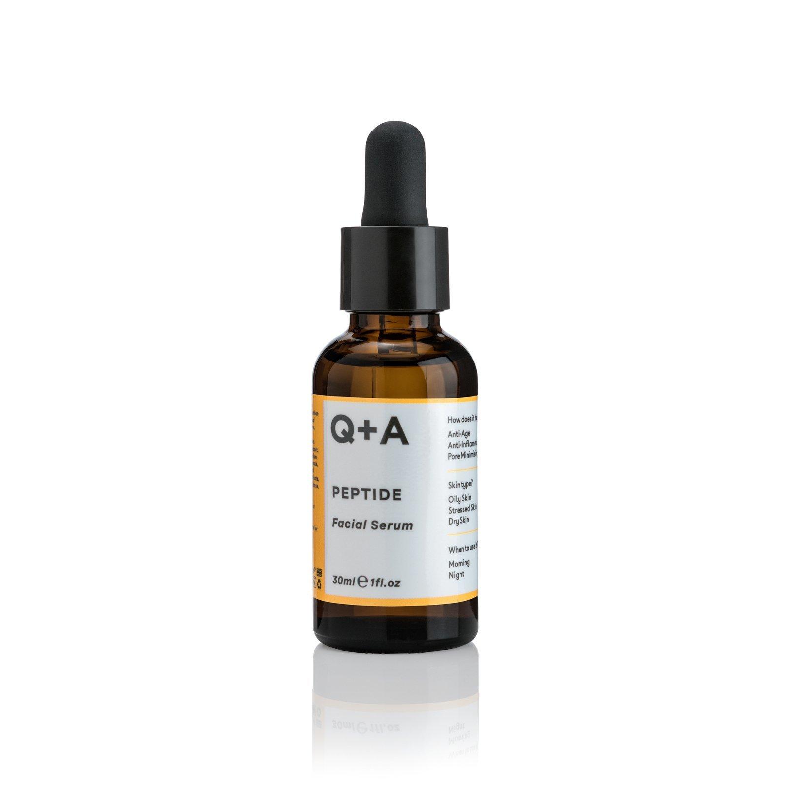 Сыворотка для лица Q+A Peptide Facial  Serum 30 мл