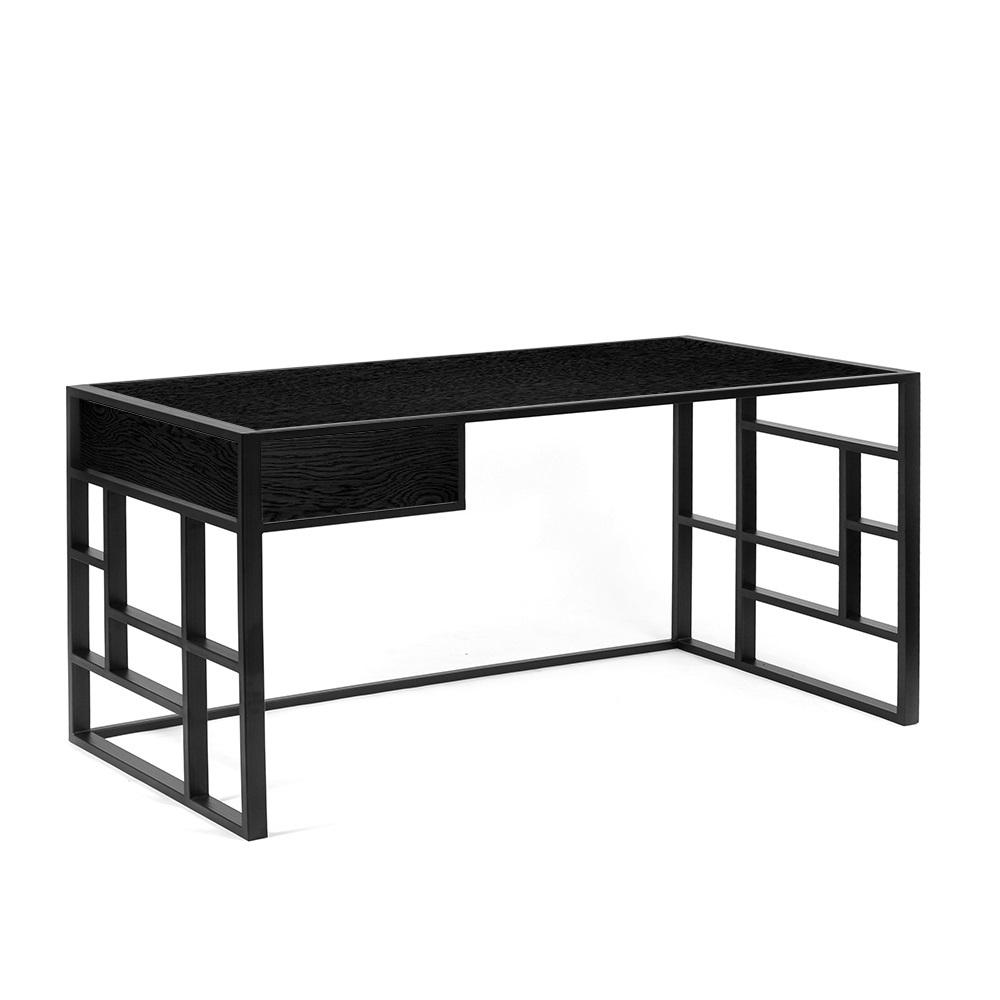 Рабочий стол Millenium lite 2 black - вид 2