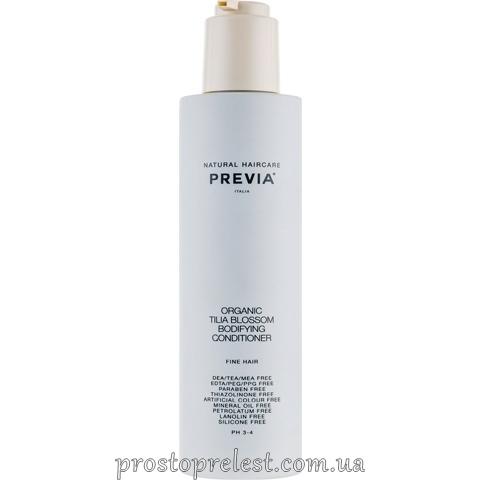 Previa Tilia Blossom Bodifying Conditioner – Кондиционер для объема волос