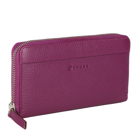 Сливовый большой женский кошелёк-клатч 20х10х2см CROSS Colors Plum AC3138287_5-130