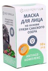 Маска для лица «AntiAge-комплекс» на грязи Сакского озера ™Дом Природы