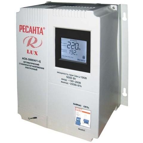 Стабилизатор напряжения Ресанта АСН LUX 5000 Н/1-Ц