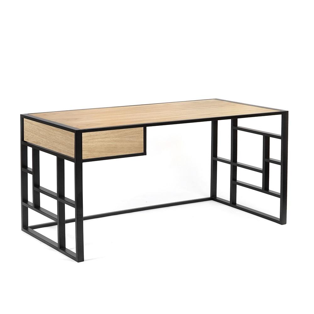 Рабочий стол Millenium lite 2 black - вид 3