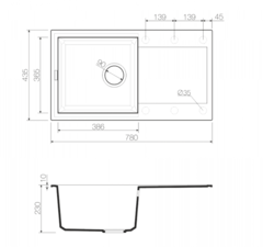 Схема Omoikiri Sakaime 78-BL