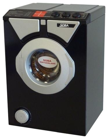 Компактная стиральная машина Eurosoba 1000 Black and Silver