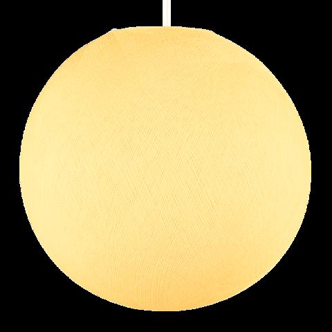 Хлопковый шар - подвес Шампань