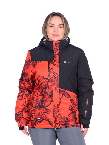 Горнолыжная женская куртка BATEBEILE красного цвета.
