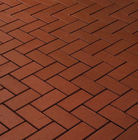 Vandersanden - Goerlitz, красный, 200x100x45 - Клинкерная тротуарная брусчатка