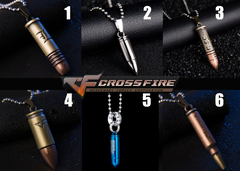 Cross Fire Pendant Necklace v2