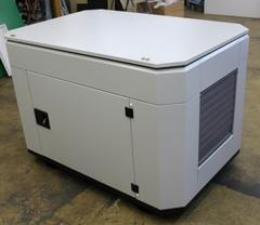 Шумозащитный всепогодный миниконтейнер для генератора (RAL 7035)