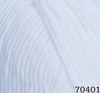Пряжа Himalaya Everyday Bebe Lux 70401 (белый)