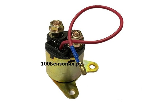 Реле электрического стартера 188 F ( с проводом )