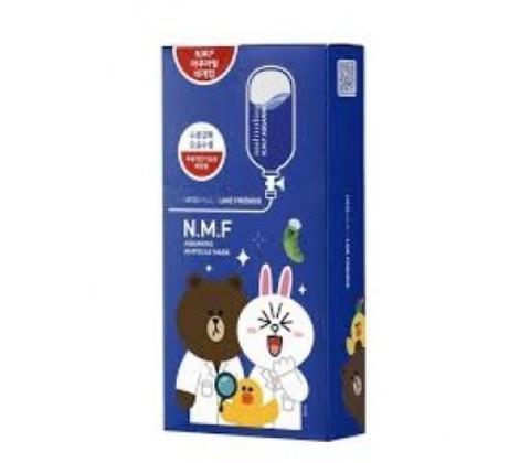 MEDIHEAL Line Friends N.M.F. Aquaring Ampoule Mask (10PC)