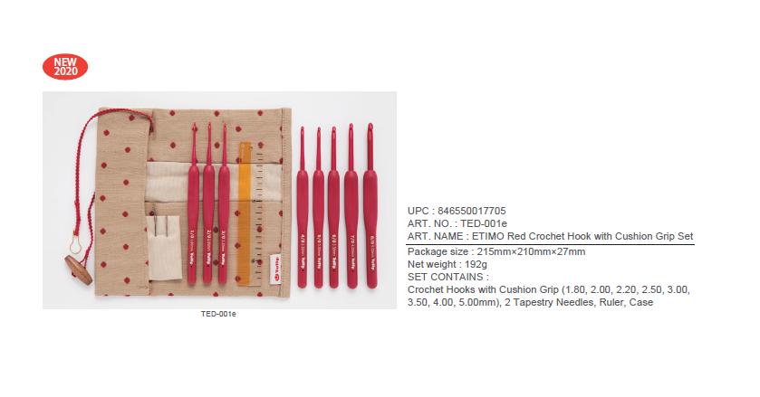 ETIMO Red, алюминий/пластик, красный, Tulip