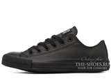 Кеды Converse All Stars Chuck Taylor Leather Low All Black