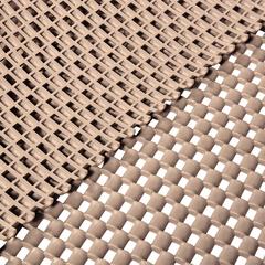 Коврик-дорожка против скольжения Шашки, бежевый, 4,5 мм, 0,9*10 м