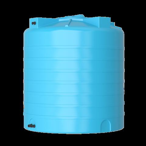 Бак для воды Aquatech ATV 1500 (синий) с поплавком Миасс