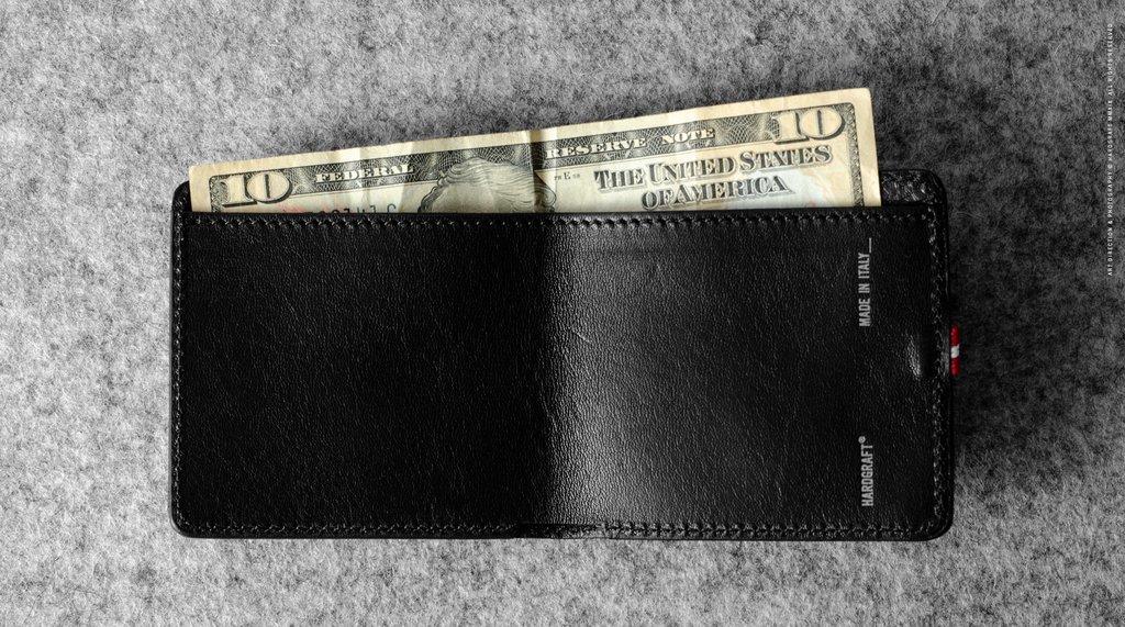 Hard Graft Бумажник Dollar Cash Only Wallet Coal