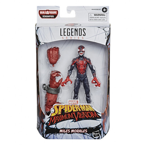 Marvel Legends Series: Venomized Miles Morales || Веном Майлз Моралез