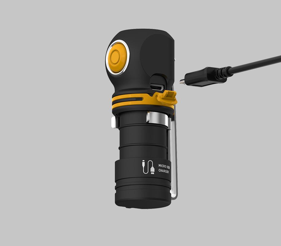 Мультифонарь Armytek Elf C1 Micro USB (теплый свет) - фото 4