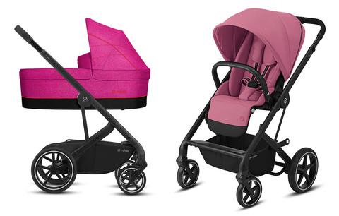 Детская коляска Cybex Balios S Lux 2 в 1 Magnolia Pink