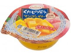 Желе фруктовое Tarami с кусочками фруктов Манго и Персик 160 гр.