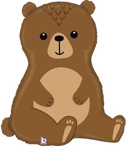 Фольгированный шар Лесной медведь