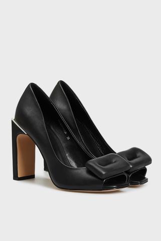 Женские черные кожаные туфли Ofeliya PRPY