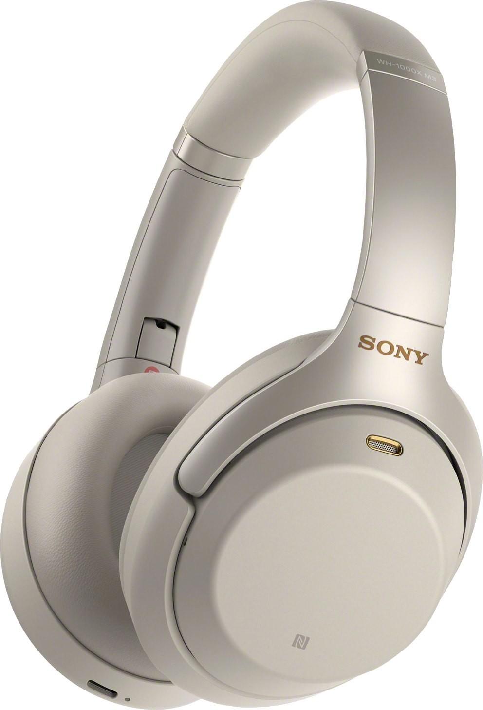 Sony WH-1000XM3 Беспроводные наушники Sony WH-1000XM3 Silver (Серебристый) 11.jpeg