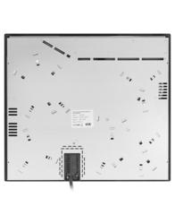 Варочная панель LEX EVH 642 BL - вид сзади