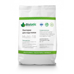 Бактерии для подстилки Biolatic multi-18 0,5 кг