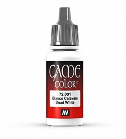 Game Color Dead White 17 ml.
