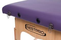 Массажный стол деревянный 2-хсекционный RESTPRO Classic 2 Purple