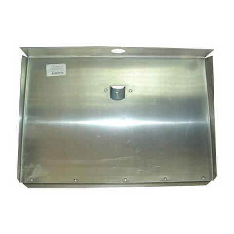 Лопата для уборки снега ковш алюминиевый (50x31 см) без черенка