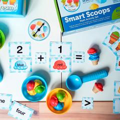 Набор для сортировки Приготовь мороженое, с карточками Learning Resources