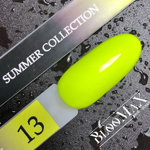 Гель лак с ароматом клубники Summer collection №13, 12 мл