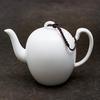 Фарфоровый чайник с матовой глазурью 190 мл