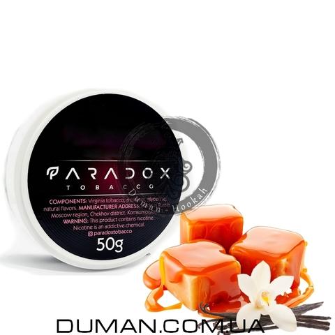 Табак Paradox Toffee Vanilla (Парадокс Ирис Ваниль) | 50g