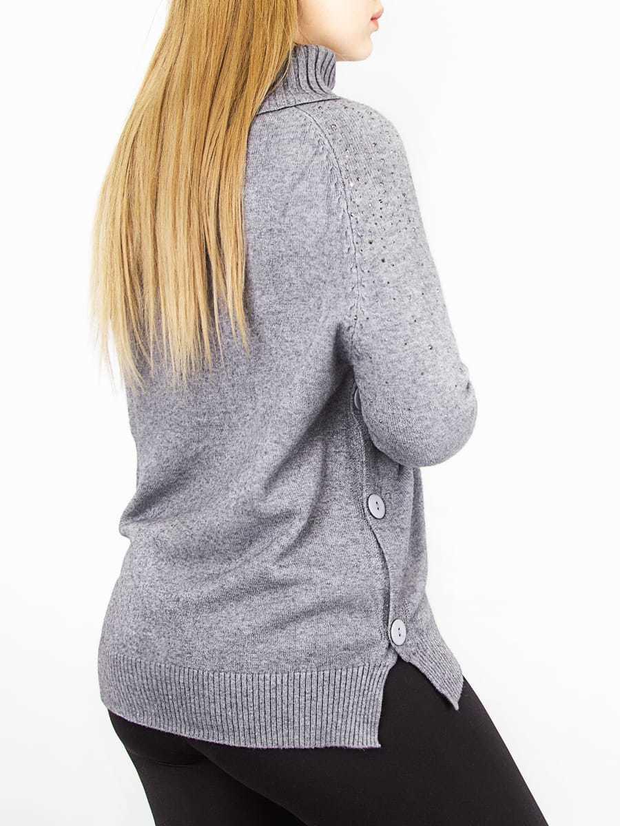 Кофта женская с пуговицами по бокам
