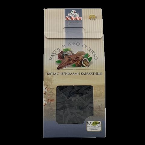 Паста с чернилами каракатицы PASTA LA BELLA SPECIALE ГУРМАЙОР, 250 гр