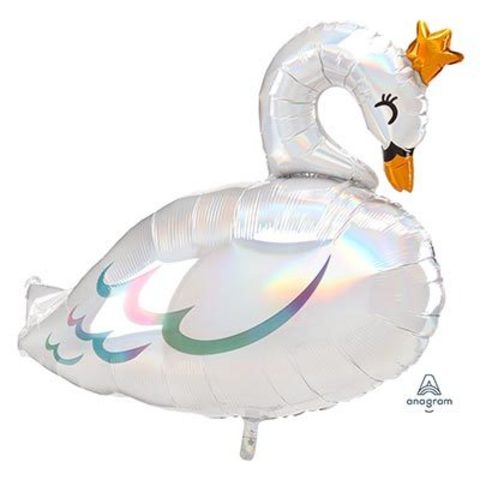 Шар фигура Лебедь переливы