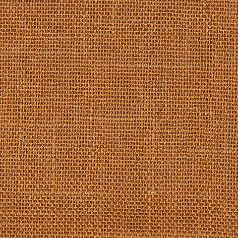 Портьерная ткань рогожка оранжево-коричневый